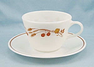 Pyrex - Harvest Home - Cup & Saucer