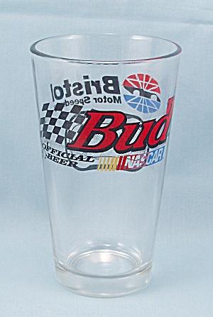 Bud � Nascar � Bristol Motor Speedway � Budweiser Beer Glass (Image1)