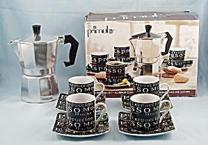 Primula – 9-PC ESPRESSO Set – Coffee Maker	 (Image1)