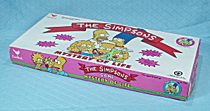 The Simpsons, Mystery Of Life Game, Cardinal, 1990