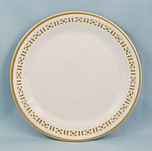 Syralite, Honey Comb, B & B Plate – Syracuse China (Image1)