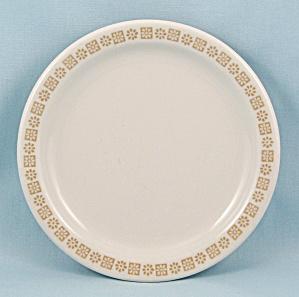 Country Kitchen Shenango China Bread Plate Gold Rim