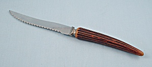 "E. Parker & Sons – Sheffield England – ""Rippledge"", Steak Knife (Image1)"