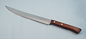 Flint Vanadium Knife - Large, Pakkawood Handle