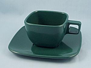 Brookpark, Forrest Green � Cup & Saucer (Image1)