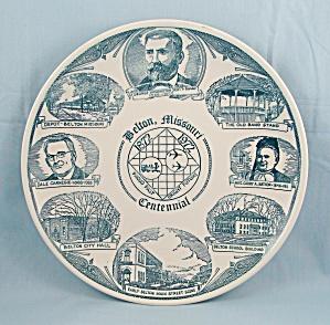 Belton, Missouri - Collector Plate, 1972 Centennial (Image1)