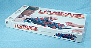 Leverage Game, Milton Bradley, 1982