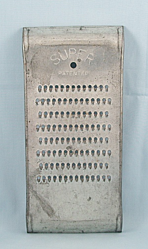 Super - Patented Grater � Fine Grate - Vintage Kitchen  (Image1)
