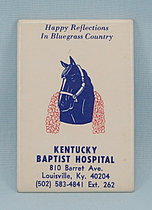 Souvenir Mirror, Horse – Kentucky Baptist Hospital, Louisville (Image1)