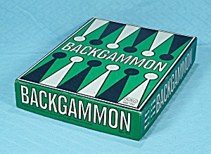 Backgammon, #751, Reiss Games, 1975