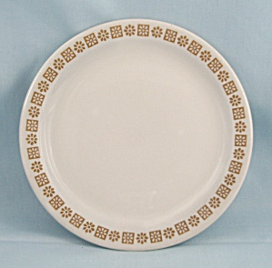 Shenango China, Small Plate, Gold Rim Floral Pattern  (Image1)