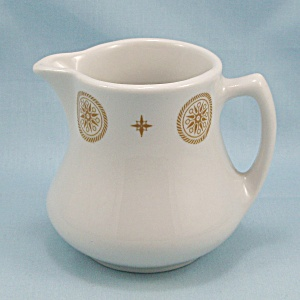 Shenango China - Cream Pitcher - Gold Trim