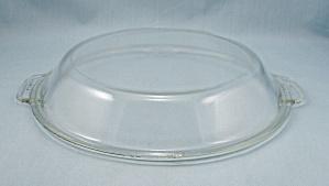Vintage Pyrex, 684 C, Pie Plate Shaped Utility Lid (Image1)