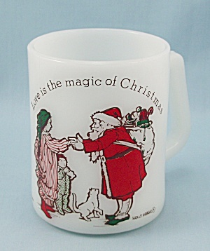 Vintage Federal – Holly Hobbie – Christmas/ Santa Mug (Image1)