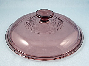 Pyrex - Cranberry Visions Lid, 8-inch, V2.5 C