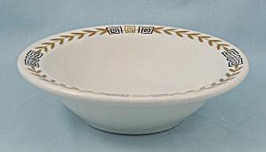 Shenango – Esquire/ Greek Key, Gold Laurel - Rimmed Bowl (Image1)