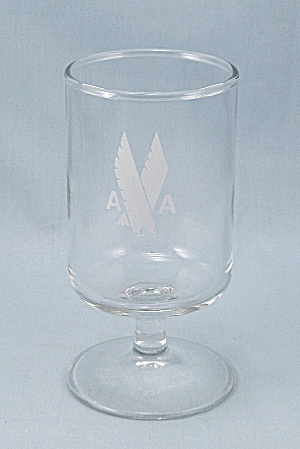 American Airlines –  Footed Wine - Stemware – Eagle Logo (Image1)