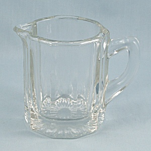 Elegant Glass - Crystal Paneled Creamer
