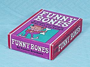 Funny Bones Game, Parker Brothers, 1968 (Image1)