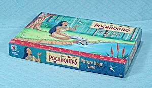 Disney's Pocahontas Picture Hunt Game, Milton Bradley, 1994