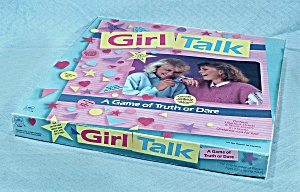 Girl Talk Game, Golden, 1988