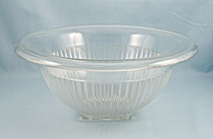 Federal Paneled Mixing Bowl, Clear - Depression Glass (Image1)