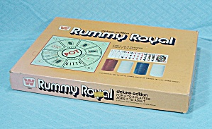Rummy Royal, Deluxe Edition Game, Whitman, 1975 (Image1)