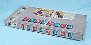 Stratego Game, Milton Bradley, 1962