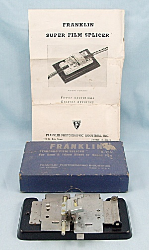 Franklin Film Splicer, S-100	 (Image1)