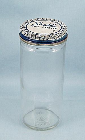 Shedd's Food / Foster-Forbes Marked  Jar / & Lid (Image1)