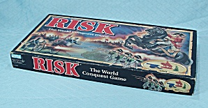 Risk, World Conquest Game, Parker Brothers, 1993