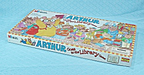 Arthur Goes To The Library Game, Milton Bradley, 1996