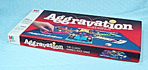 Aggravation Game, Milton Bradley, 1989