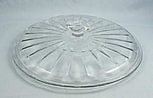 Anchor Hocking – Clear  Glass Lid, Square Knob – 8-Inches / Round (Image1)