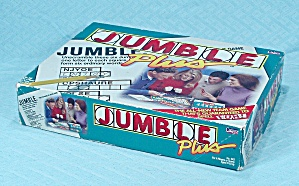 Jumble Plus Game, Cadaco, 1996