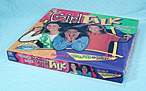 Girl Talk Game, Milton Bradley, 1995