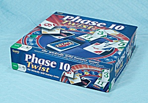 Phase 10 Twist Game, Fundex, 2010