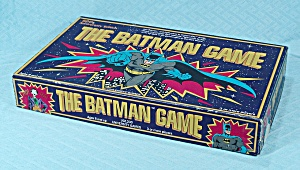 The Batman Game, 50th Anniversary Edition, University Games, 1989