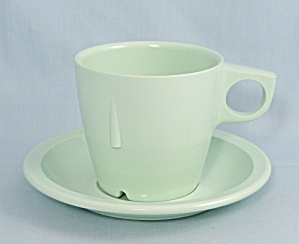 Arrowhead � Mint Green Cup & Saucer Set	 (Image1)