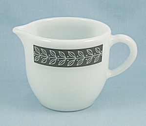 Corning Creamer - Gray Grecian - Décor Dinnerware