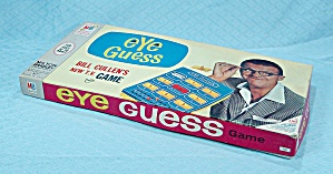 Eye Guess Game, Milton Bradley, 1966