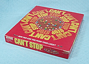 Can't Stop Game, Parker Brothers, 1980 (Image1)