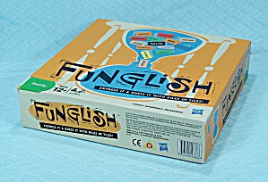 Funglish Game, Parker brothers, 2010 (Image1)