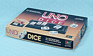 Uno Dice Game, International Games, 1987