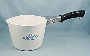 Corning - Blue Cornflower - P-55-b Saucepan & Handle