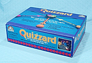 Quizzard Game Plus Extra Game Books, Random House, 1988
