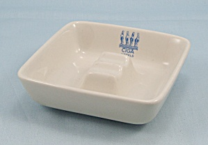 Cigo Hotels � Ash Tray - Richard Ginori, Made In Italy	 (Image1)