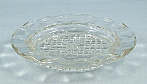 Jeannette Glass Co. -depression Glass - Coaster / Ash Tray