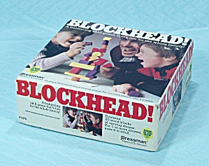 Blockhead! Game, Pressman, 1982 (Image1)