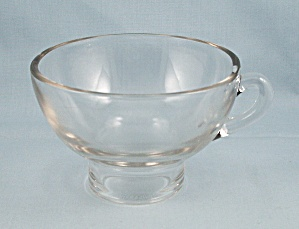 Vintage Glass Canning Funnel - Clear